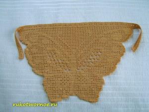 Косынка-бабочка