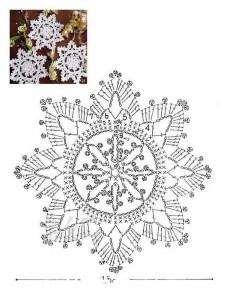 Снежинка_крючком схема2