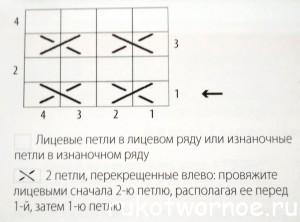 Медовые соты_вариант 1_схема